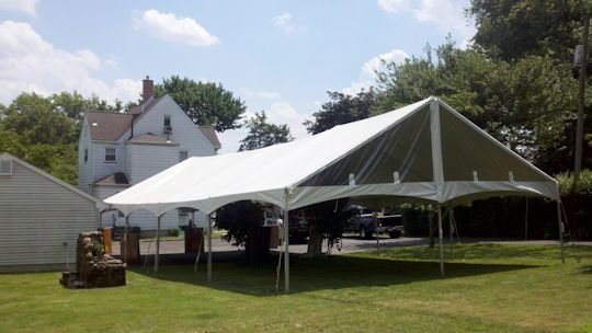 30 x 60 Gable end Frame Tent