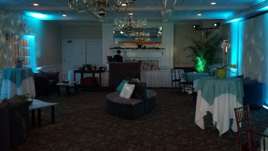 rockaway river country club caribbean themed cocktail area