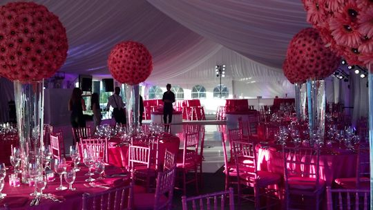 tented event during event