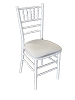 White Ballroom Chair
